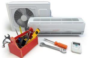 air conditioning installation unit