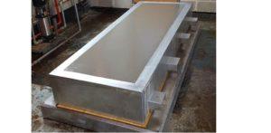 Construction of concrete plinths for the Blowers, Backwash Pumps and Transfer Pumps