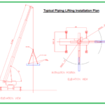 Typical Piping Lifting Installation Plan