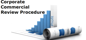 Corporate Commercial Project Review Procedure