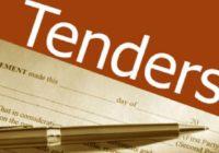 Tendering process in construction tenders