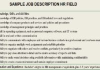 Project Manager Job Description Sample