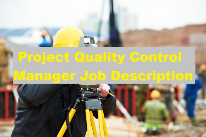 project quality engineer job description