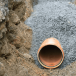 Connection of Drainage Pipe Line method statement